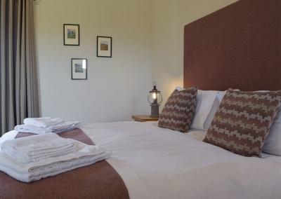 Bedroom #1 at Bwthyn y Bugail, Penrhiw