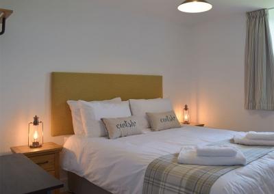 Bedroom #2 at Bwthyn y Bugail, Penrhiw