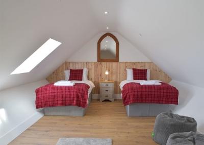 Bedroom #3 at Bwthyn y Bugail, Penrhiw