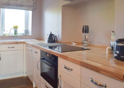 The kitchen at Caldey Island View, Penally