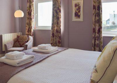 Bedroom #1 at Caldey Island View, Penally