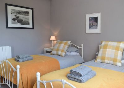 Bedroom #2 at Caldey Island View, Penally