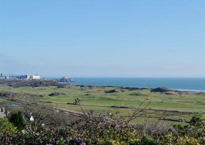 The gorgeous & far reaching coastal view at Caldey Island View, Penally
