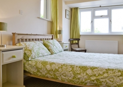 Bedroom #1 at Cherry Trees, Llangwm