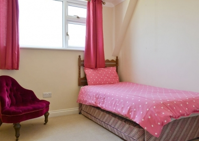 Bedroom #3 at Cherry Trees, Llangwm