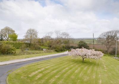 The garden at Cherry Trees, Llangwm