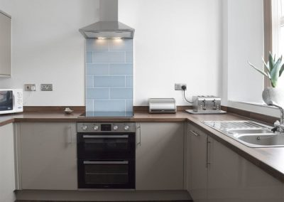 The kitchen at Dyma Y Bywyd, Tenby