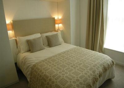 Bedroom #1 at Glendower House 4, Tenby