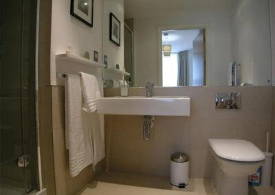 Bedroom #1 en-suite at Glendower House 4, Tenby