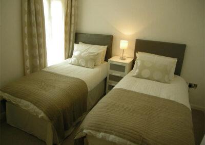 Bedroom #2 at Glendower House 4, Tenby
