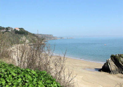 Glendower House 4, Tenby is just 100 metres from the golden sands of North Beach