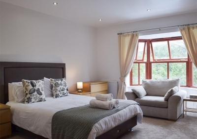 Bedroom #1 at Hafan Dawel, Stepaside