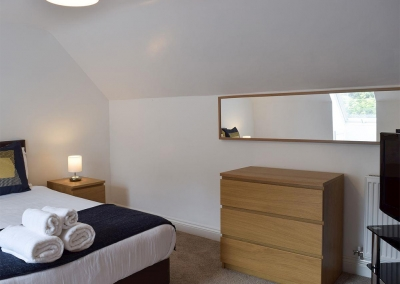 Bedroom #2 at Hafan Dawel, Stepaside