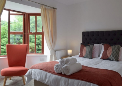 Bedroom #3 at Hafan Dawel, Stepaside