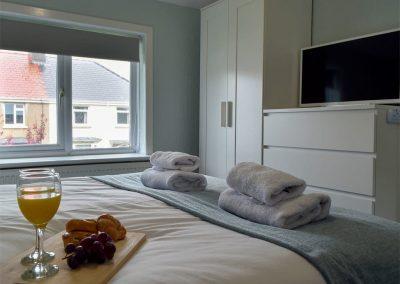 Bedroom #1 at Hafan, Tenby