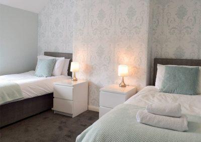 Bedroom #2 at Hafan, Tenby