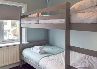 Bedroom #3 at Hafan, Tenby