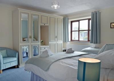 Bedroom #1 at Hayscastle Farmhouse, Hayscastle