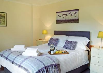 Bedroom #2 at Hayscastle Farmhouse, Hayscastle