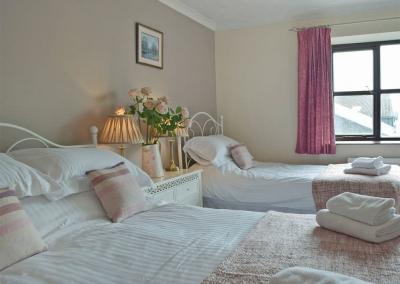Bedroom #3 at Hayscastle Farmhouse, Hayscastle