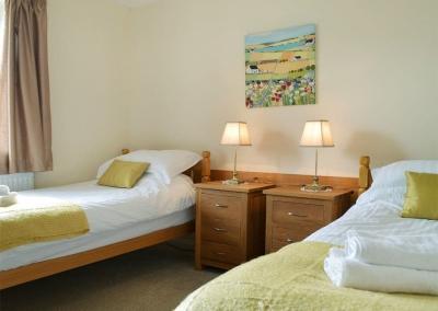 Bedroom #4 at Hayscastle Farmhouse, Hayscastle