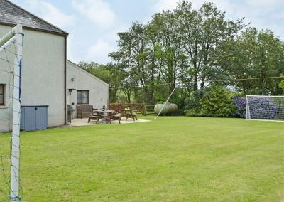 The garden at Hayscastle Farmhouse, Hayscastle