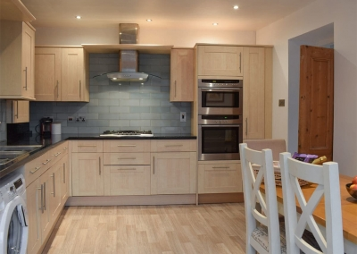 The kitchen at Holly Cottage, Haverfordwest