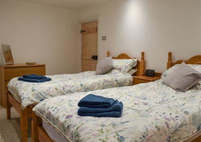 Bedroom #2 at Holly Cottage, Haverfordwest