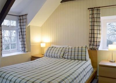 Bedroom #1 at Lake Cottage, Ivy Court Cottages, Llys-Y-Fran