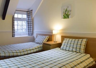 Bedroom #2 at Lake Cottage, Ivy Court Cottages, Llys-Y-Fran