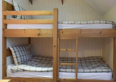 Bedroom #3 at Lake Cottage, Ivy Court Cottages, Llys-Y-Fran