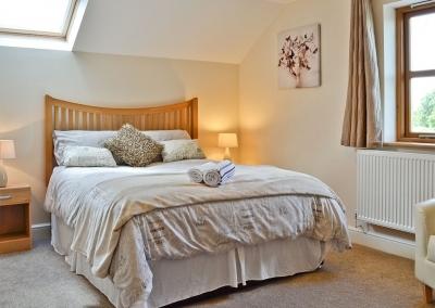 Bedroom #4 at Llanlliwe Cottage, Henllan Amgoed