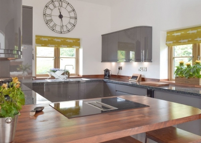 The kitchen at Manor Lodge Stables, Wiston