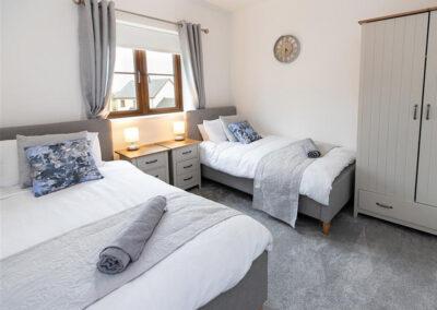 Bedroom #2 at Oak Grove 32, Twycross