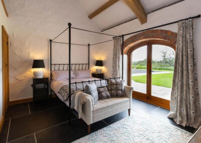 Bedroom #1 at Orchard Barn, St Florence