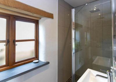 Bedroom #1 en-suite at Orchard Barn, St Florence