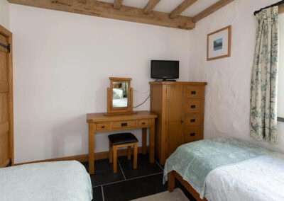 Bedroom #3 at Orchard Barn, St Florence