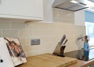 The kitchen at Penbanc, Wolfscastle
