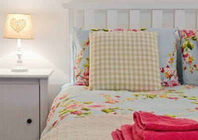 Bedroom #1 at Penbanc, Wolfscastle