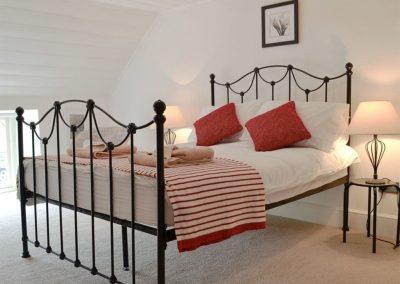 Bedroom #2 at Penbanc, Wolfscastle