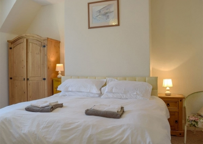 Bedroom #1 at Rose Cottage, Tenby
