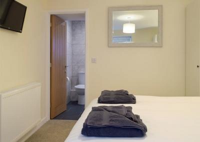 Bedroom #1 at Sandunes, Tenby