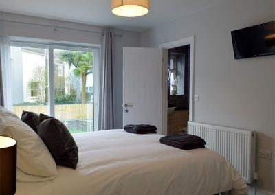 Bedroom #2 at Sandunes, Tenby
