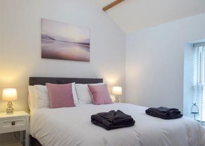 Bedroom #3 at Sandunes, Tenby
