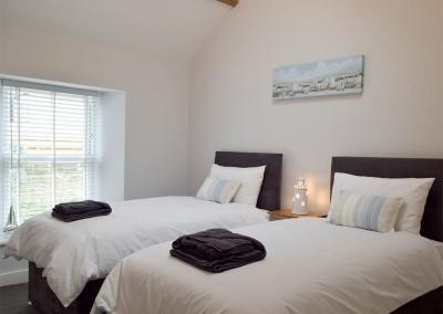 Bedroom #4 at Sandunes, Tenby