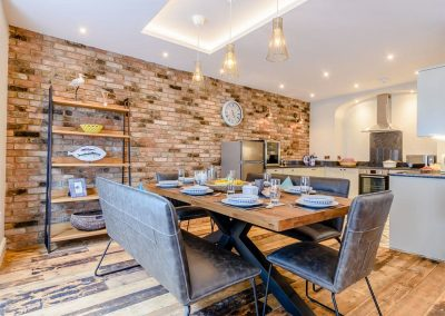 The dining area at Summers, Tenby