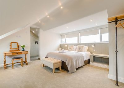 Bedroom #1 at Summers, Tenby