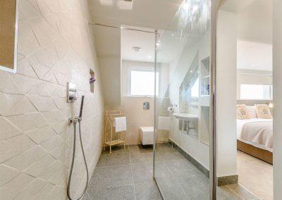 Bedroom #1 en-suite at Summers, Tenby