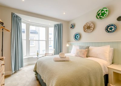 Bedroom #4 at Summers, Tenby
