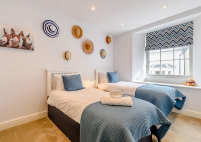 Bedroom #3 at Summers, Tenby